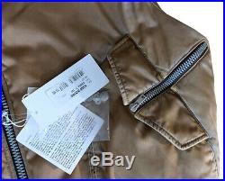 MAISON MARTIN MARGIELA METALLIC BEIGE VEST / GILET Size 50 /Large BNWT VERY RARE