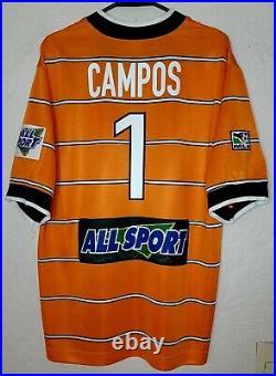 MLS Chicago Fire Nike 1998 Jorge'Brody' Campos Goalie Soccer Jersey Very Rare
