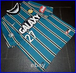 MLS LA Galaxy Nike 1998 Carlos Hermosillo Home Soccer Jersey Very Rare