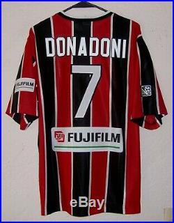 MLS Metrostars Nike 1997 Roberto Donadoni Home Soccer Jersey Very Rare