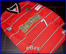 MLS Metrostars Nike 1997 Roberto Donadoni Prototype L/S Soccer Jersey Very Rare