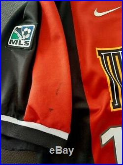 MLS Metrostars Nike 2001 Lothar Matthaus Home Soccer Jersey Very Rare