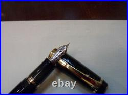 MONTBLANC BOHEME XL LARGE JUMBO FOUNTAIN PEN BLACK very rare