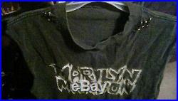 Marilyn Manson Vintage T-shirt Everlasting C#cks#cker VERY RARE NIN