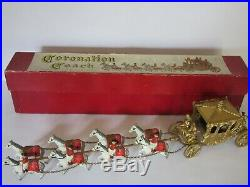 Matchbox Moko Early Lesney Very Rare Large Coronation Coach King N Queen Version