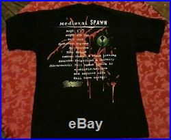 Medieval Spawn Todd Mcfarlane Darkhorse Comics Vintage Lg Shirt very rare