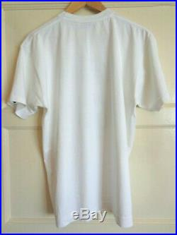 Mens Bape / A Bathing Ape x Kaws ABC Camo Tee T-Shirt Size Large Blue Very Rare