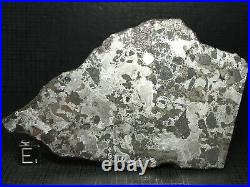 Meteorite Maslyanino Iron IAB-complex Very Rare Large Slice 90.58g COA