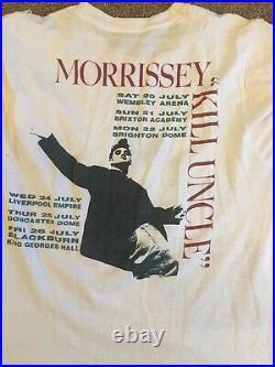 Morrissey T-Shirt Kill Uncle Tour 1991 Large Very Rare