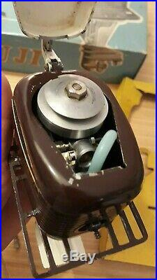 Moteur hors bord vintage FUJI Toy Boat Outboard Motor Very Large & Rare K&O