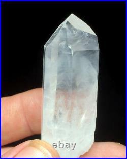 NEW FIND VERY RARE DOW LARGE Arkansas Quartz Crystal WHITE PHANTOM Point