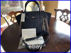 NWT BRAHMIN Spectacular Very Hard to find ANDESITE LUCCA PRISCILLA RARE