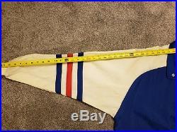 New York Rangers Vintage 90s Center Ice Starter Jacket Men's Large (VERY RARE)
