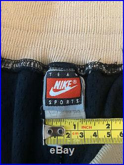 Nike Authentic Georgetown Hoyas Shorts Size 36 L Vintage Very Rare HOLY GRAIL