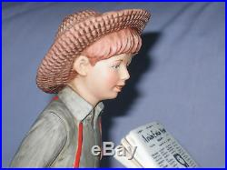 Norman Rockwell Circus Large Limited Edition Porcelain Figurine Very Rare New