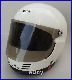 Original GPA SJ F1 Large Windows Helmet Used Race Worn Arnoux Laffite Very Rare