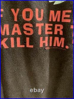 Original Marilyn Manson MEET YOUR MASTER vintage LG t-shirt Winterland VERY RARE