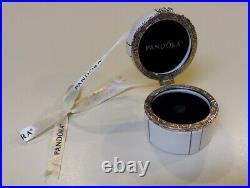 PANDORA 2018 Limited Edition JARED Round Porcelain Hat Box Ornament VERY RARE