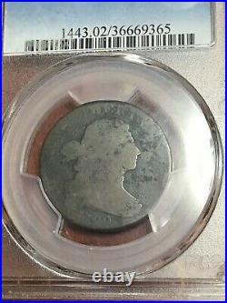 Pcgs Fr02 1799 Draped Bust Large Cent Key Rare Date Very Pleasing Original