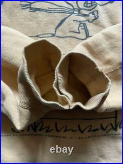 Peanuts MAYO SPURUCE Snoopy sweatshirt vintage 60's size L Very Rare Japan