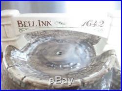 RARE Very Large Vintage Ceramic Stilton Bell Inn Cheese Dome Dish for Harrods