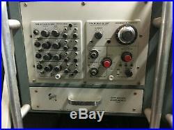 RARE very large lot vintage electronic lab testing Tektronix Hewlett Packard