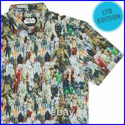 RSVLTS Star Wars Galactic Toy Box Figures L Shirt New VERY RARE SOLD OUT in hand