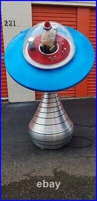 Rare 1954 Burgermeister Ufo/spaceship- Very Large