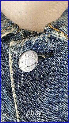 Rare HELMUT LANG Men's Slim Denim Jacket Size 52 or M/L VERY GOOD Condition