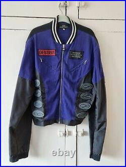 Rare early 90's John Richmond Destroy Jacket very good condition mark on Arm