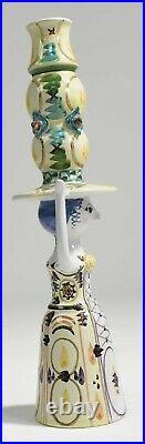 Rare very large Bjorn Wiinblad Studio vase 20 tall mint condition