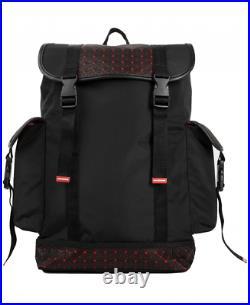 SPRAYGROUND ORIGAMI RUBBER RECON Black & Red Very Rare Limited Edition
