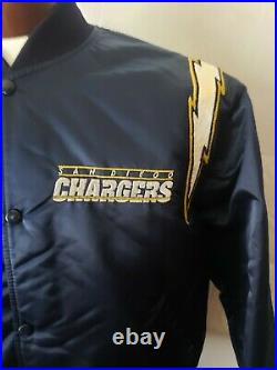 San Diego Los Angeles Chargers VTG Large OG Starter RARE! VERY NICE