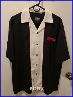 The Sopranos Bada-Bing Bowling Shirt Official HBO Mens Large VERY RARE