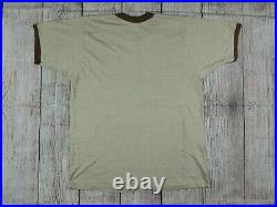 The fox and the hound disney Vtg 1980 Mens Promotional Shirt Size L very rare
