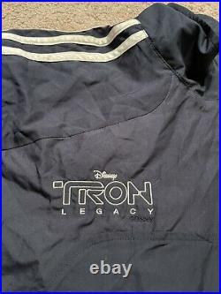 Tron Legacy Cast and Crew Imax Jacket VERY RARE Disney Film Daft Punk Large-XL