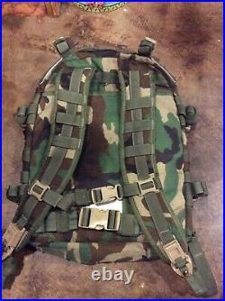 USGI MOLLE II large assault pack Woodland style 4095 VERY RARE
