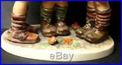 VERY LARGE School Boys Goebel Hummel Figurine #170/III TMK5 RARE