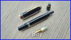 VERY RARE 1960s OVERSIZE GARANT ALKOR F Nib Large Fountain Pen Org. BOX
