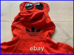 VERY RARE CP Company x Adidas Hooded Sweatshirt CK6285 size L NEW WITH TAGS