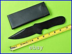 VERY RARE Custom Made Handmade MAD DOG G-10 Large Fighting Knife with Sheath