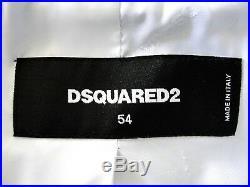 VERY RARE Dsquared2 Runway Denim-New Wool Jacket Sz IT 54 US 44