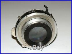 VERY RARE FAST Carl Zeiss Tessar 3.5/13.5 cm Large Format lens COMPUR shutter