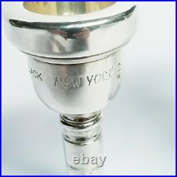 VERY RARE Greg Black Large Shank Trombone Mouthpiece New York 2 Medium Weight