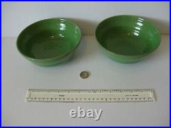 VERY RARE HABITAT PEA 2 x LARGE CEREAL SOUP BOWLS A