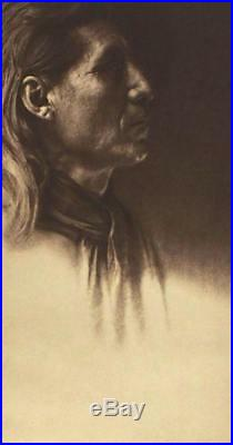 VERY RARE Little Sioux- Arikara Edward S Curtis Large Photogravure