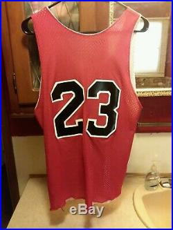VERY RARE Michael Jordan #23 80s Practice Jersey Vintage Mac Gregor Champion