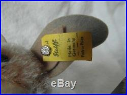 VERY RARE THE LARGE 17cm STEIFF ERIC THE BAT WITH ALL IDs SUPERB CONDITION