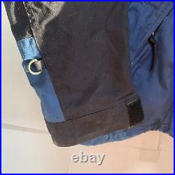 VERY RARE The North Face RTG Blue/Black Vintage Large Gore-Tex Ski Jacket Shell