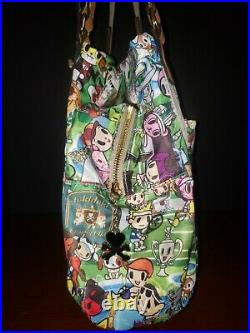 VERY RARE! Tokidoki Country Club Limited Edition Retired Shoulder Tote Bag-EUC